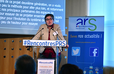 1ère Rencontre du PRS : introduction de Cécile Courrèges