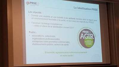 Le Label PRSE3 Agir