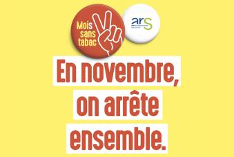 L'ARS se mobilise pour cette deuxième édition de la campagne Mois sans tabac