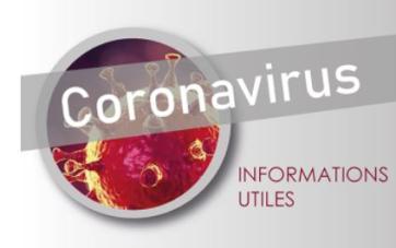 "visuel ""Coronavirus, informations utiles"""
